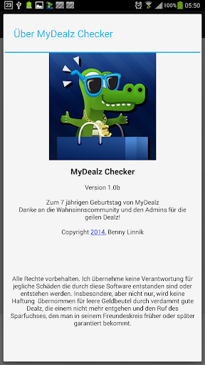 MyDealz Checker