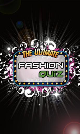 Ultimate Fashion Quiz