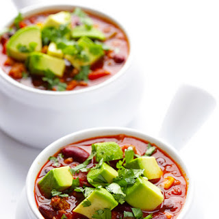 Slow Cooker Turkey Taco Chili
