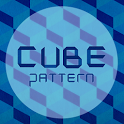 Cube Pattern Atom theme icon