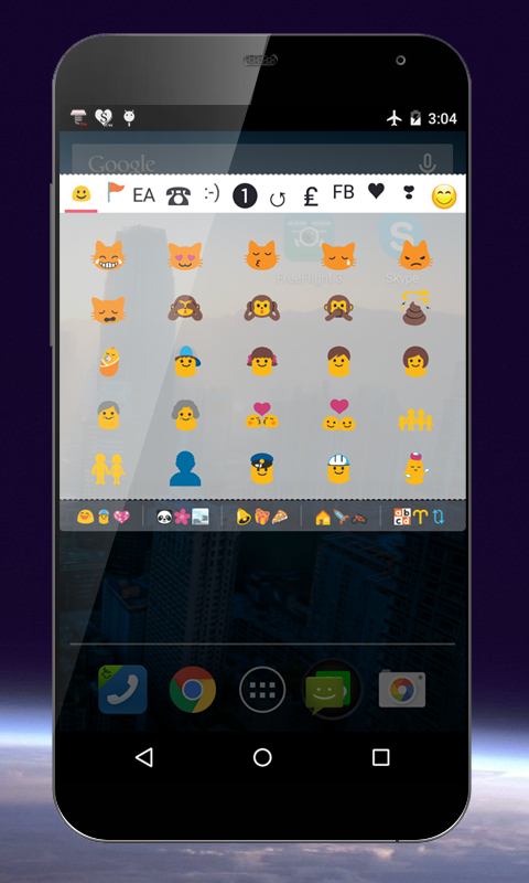 CoolSymbols emoticon emoji- screenshot