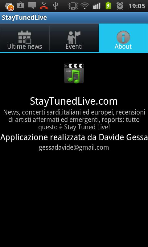 StayTunedLive.com- screenshot