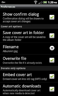 Cover Art Downloader (Donate) - screenshot thumbnail