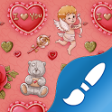 I Love You: wallpaper & theme icon