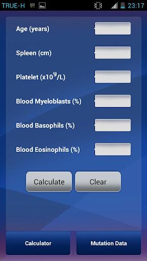 【免費醫療App】CML Prognosis Score V.1-APP點子