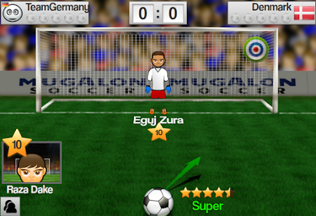 Soccer Worldcup Mugalon 3D- screenshot thumbnail