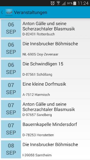 Blasmusik-Kalender