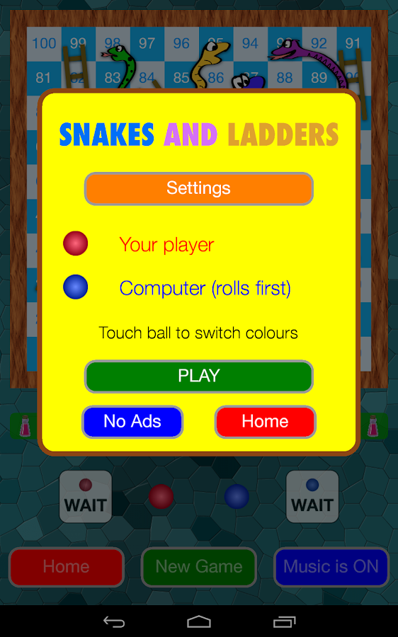 Snakes and Ladders Game (Ludo)- screenshot