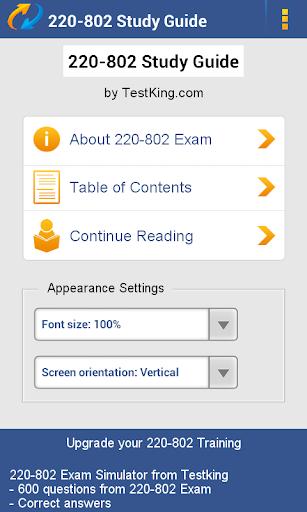 A +220-802 Study Guide