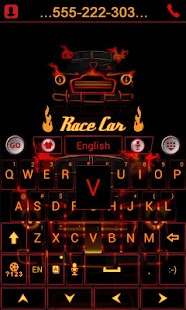 Car-and-Speed-Keyboard-Theme 3