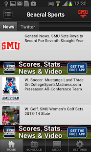 SMU Mustangs - screenshot thumbnail