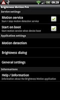 Screenshot of Brightness Motion Pro