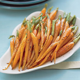 Roasted Carrots.