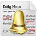 뉴스알람(키워드설정,뉴스읽기,설문조사,속도설정,신문) icon