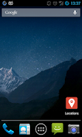 Screenshot of Locations