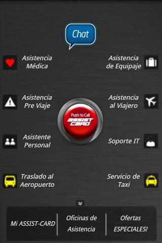 ASSIST-CARD APP - screenshot