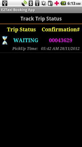 E2Taxi Booking App
