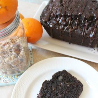 Dark Chocolate-Orange & Walnut Banana Bread