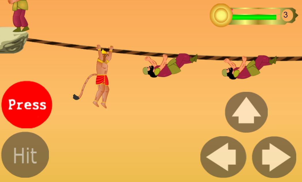 Hanuman the ultimate game - screenshot
