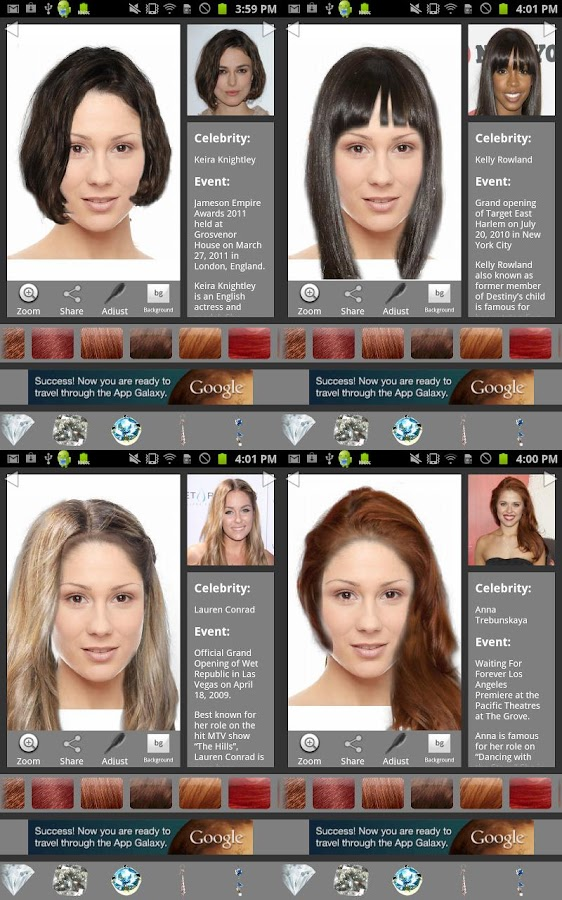 Wonderful Hair Color Changer  Styles Salon Amp Recolor Booth On The App Store