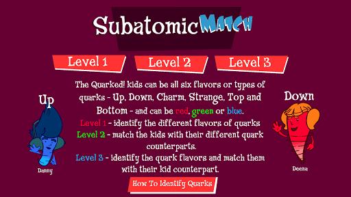 Quarked Subatomic Match