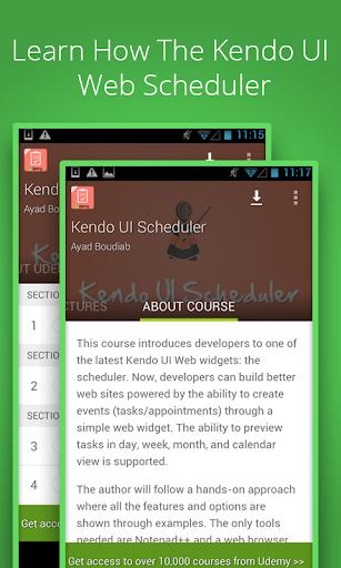 Kendo UI Scheduler Tutorials