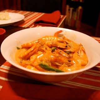 Shrimp in Coconut Milk.