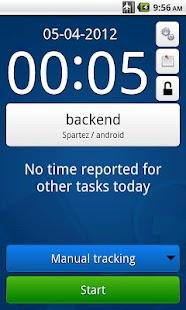 MrTickTock - time tracker- screenshot thumbnail