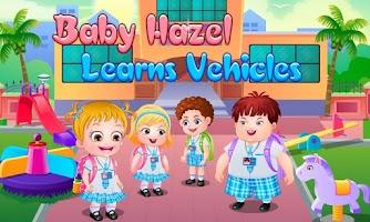 Screenshot of Baby Hazel Learns Vehicles
