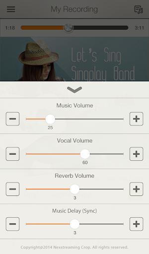 SingPlay: Karaoke your MP3s 2.3.4 screenshots 7