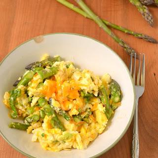 Asparagus Scramble