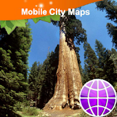Sequoia National Park Map