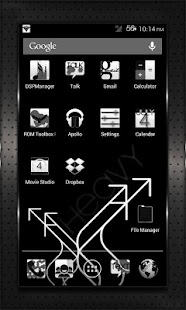 BLACK HEAVY cm10 cm9 aokp - screenshot thumbnail