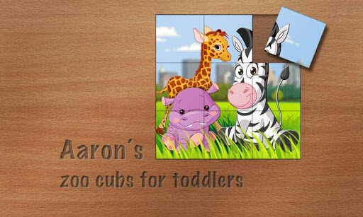 Aaron's Cute Zoo Cubs Puzzles