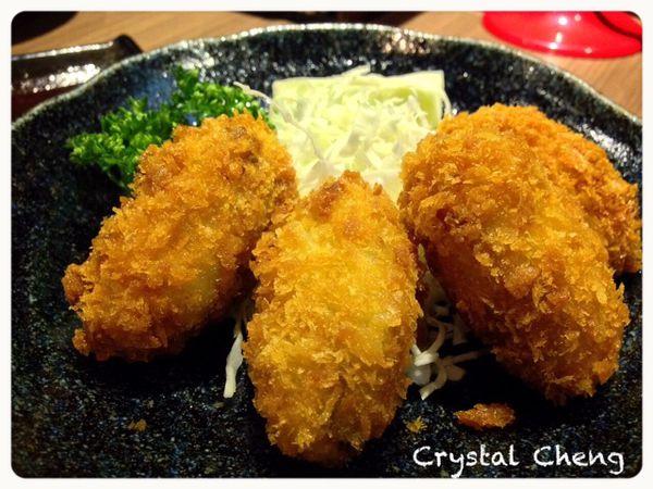 南港樂麵屋 非常鮮美炸牡蠣推薦!沾麵湯頭真的鹹死人不推薦!