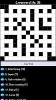 Screenshot of Crosswords