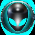 PowerAMP alienígena de piel icon