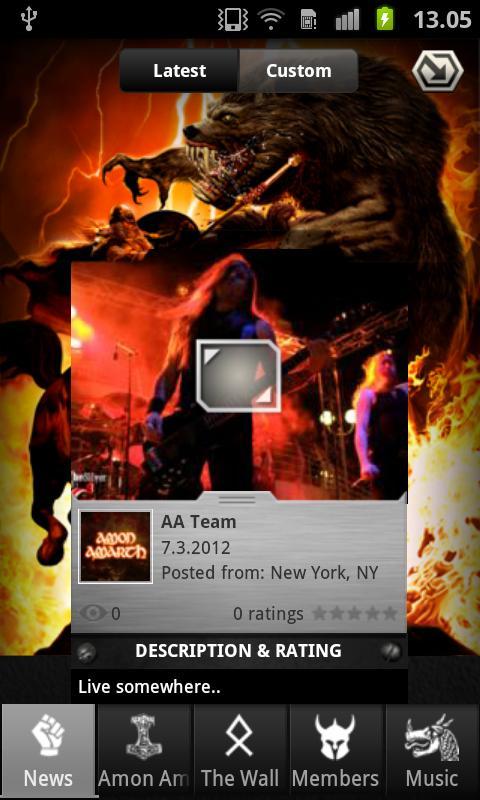 Amon Amarth - screenshot