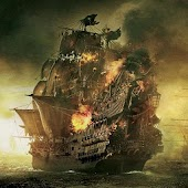 Pirate Ships Wallpaper