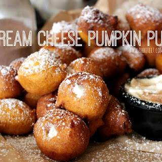 ~Cream Cheese Pumpkin Puffs!