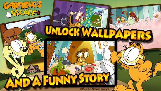 Garfield's Escape Premium- screenshot thumbnail
