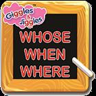 UKG-English - WHOSE WHEN WHERE icon