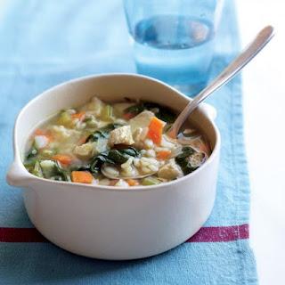 Chicken Barley Soup.