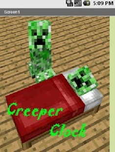 Creeper Clock