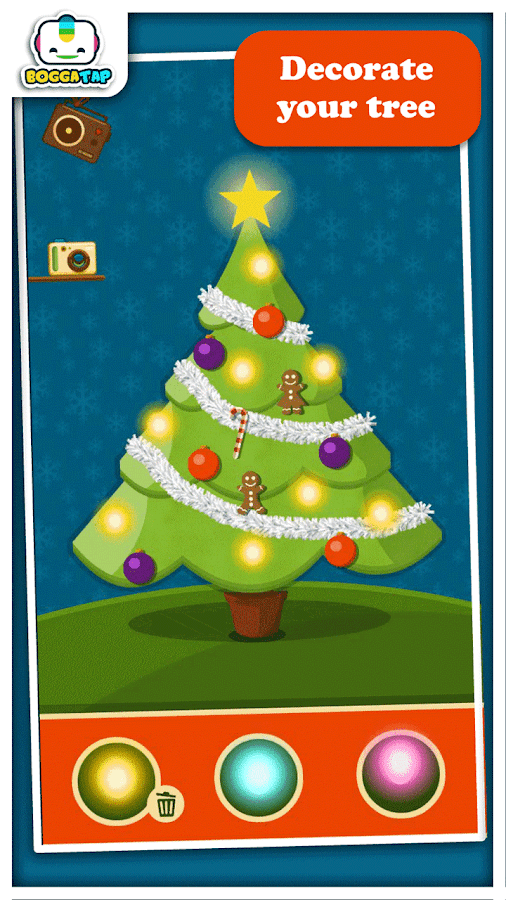 Bogga Christmas Tree For Kids- screenshot