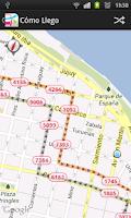 Screenshot of ¿Cómo Llego? Rosario