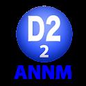 D2のオールナイトニッポンモバイル2013 第2回 logo