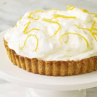 Lemon Mousse Damask Tart.