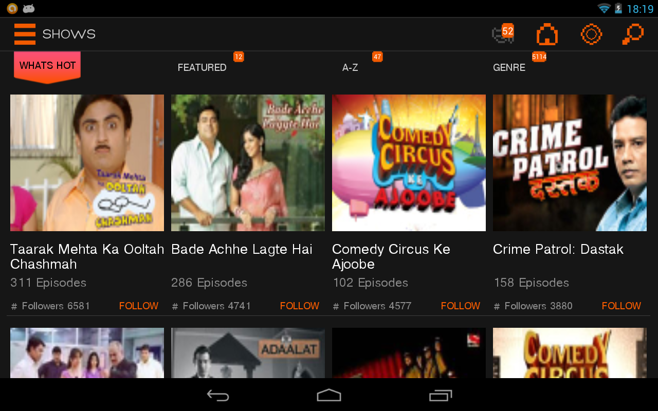 Sony LIV - screenshot
