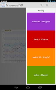 Monitoring Powietrza - screenshot thumbnail
